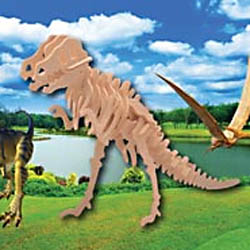 3d t rex puzzle instructions